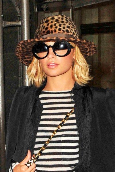 Nicole Richies hat hairstyles