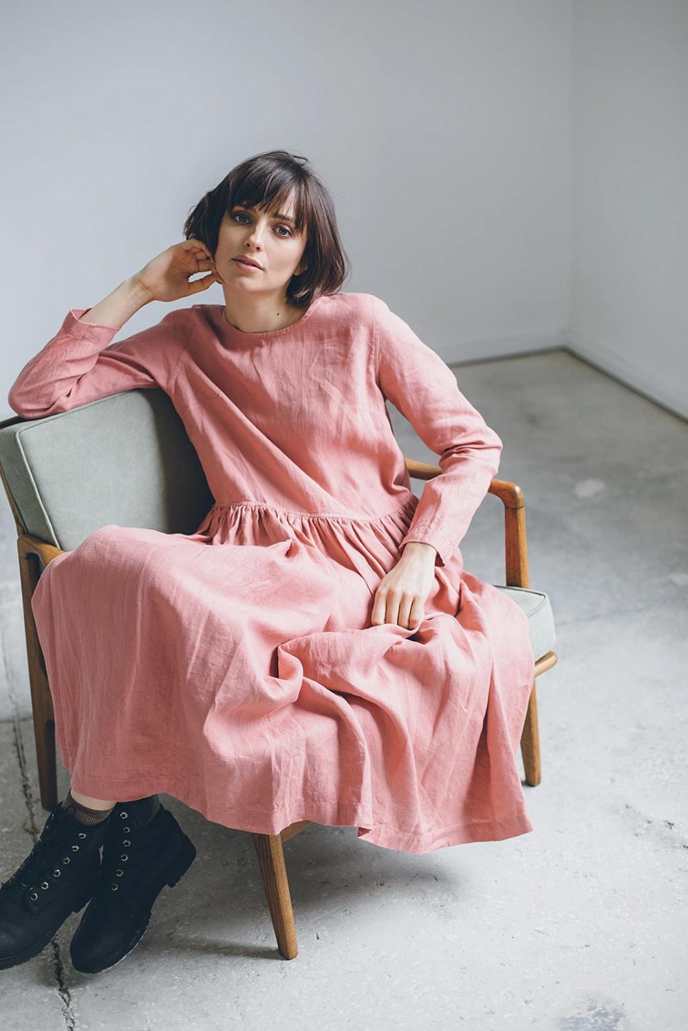 ALICE DRESS - Linenfox | Vegane kleidung, Kleidung ...