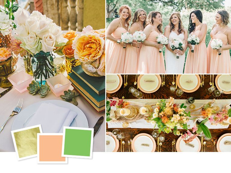 Make Your Wedding Stand Out With An Unexpected Color Theme That Totally Works Get Inspired By These 15 Combinations
