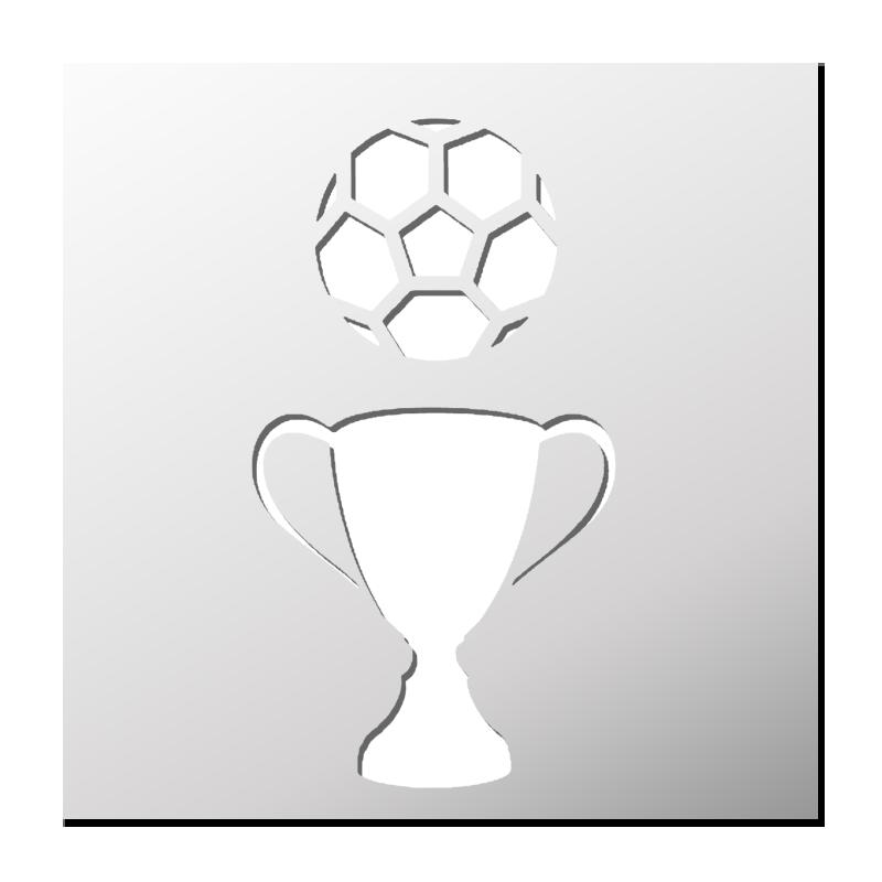 Pochoir Coupe Du Monde De Foot Coupe Du Monde Foot