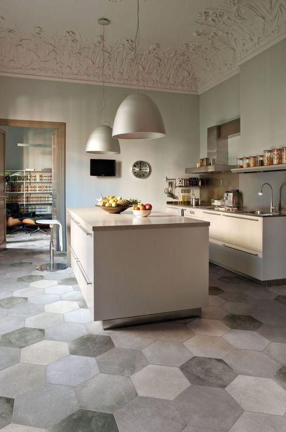 Best 15 Kitchen Flooring Ideas Cool Flooring Pinterest Kitchen Flooring Kitchen Design And Kitchen Island Dimensions