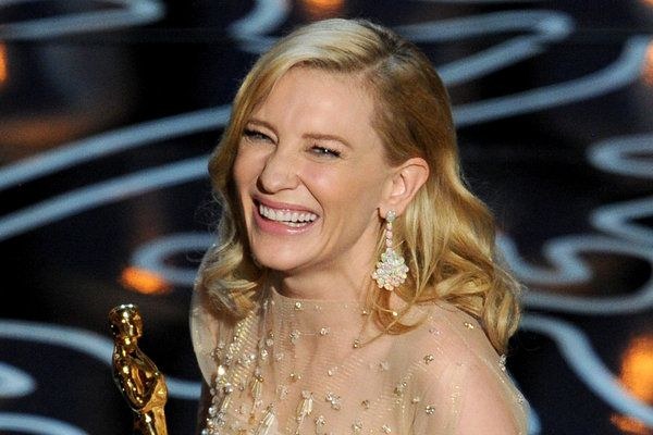 Oscars 2014 Cate Blanchett wins lead actress Cate