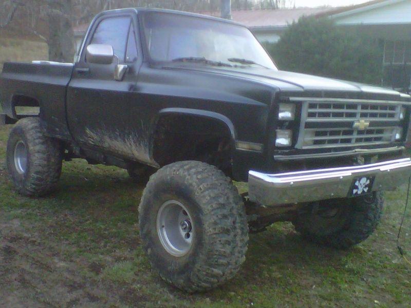 Used 87 Chevy Truck 4 Wheel Drive $4500 http://www.classifiedride ...