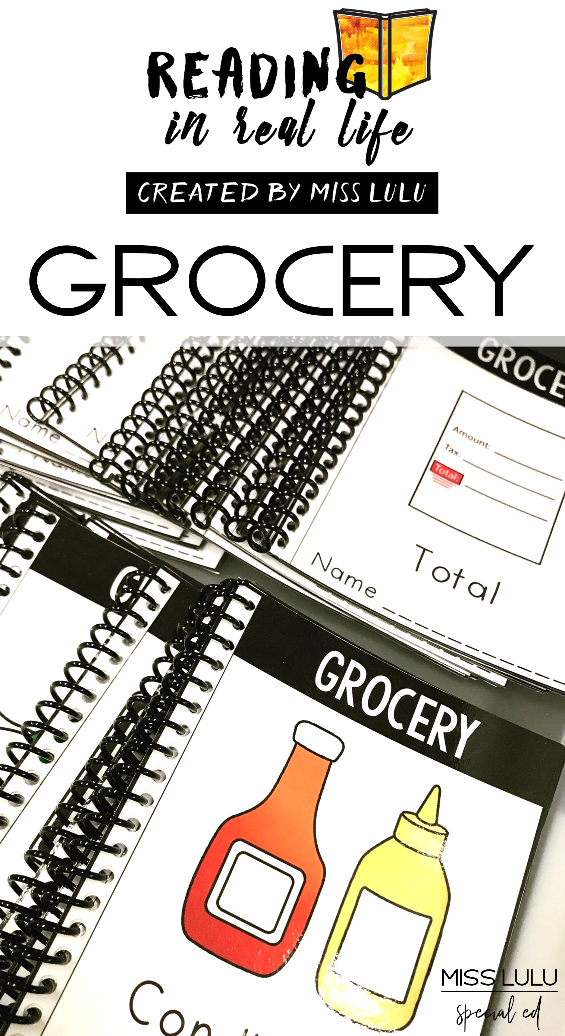 Reading In Real Life Grocery Store Unit