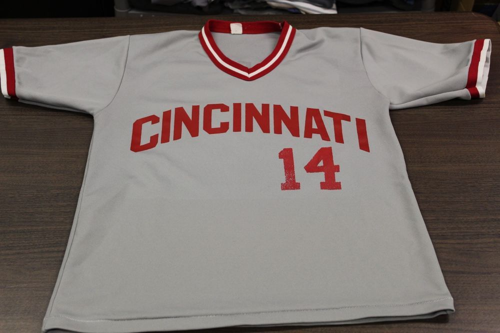 c885830c8 Vintage Cincinnati Reds Gray MLB Baseball Jersey - Large - Caudill  14    19.99 End Date  Saturday Dec-15-2018 13 04 05 PST Buy It Now for…