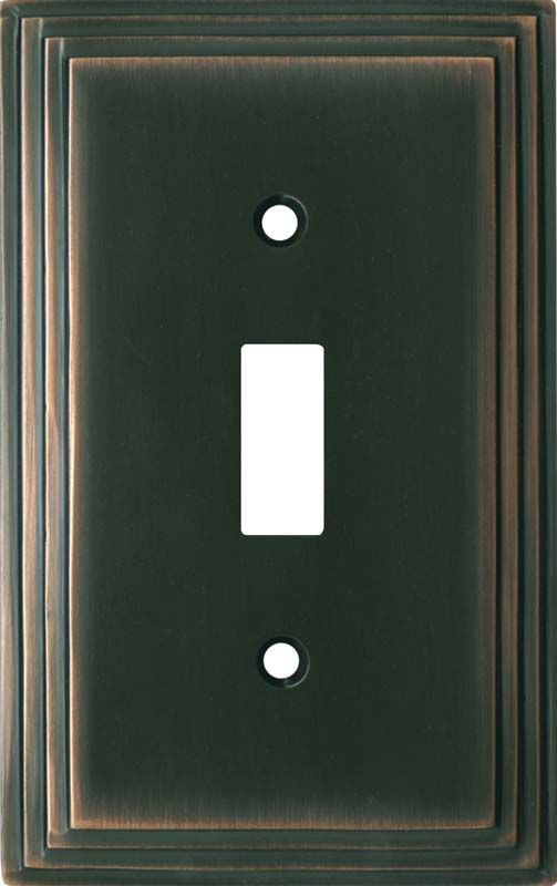 Art Deco Step Oil Rubbed Bronze Switch Plates Image Outlet Covers