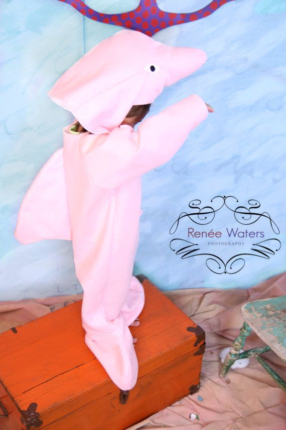 Rare Amazon Pink Dolphin Costume Dolphin Costume Pink Dolphin