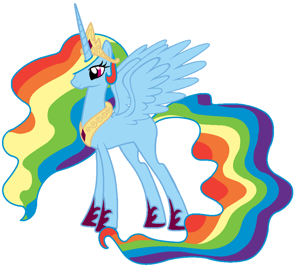 Princess Rainbow Dash By Nianara On Deviantart With Images My