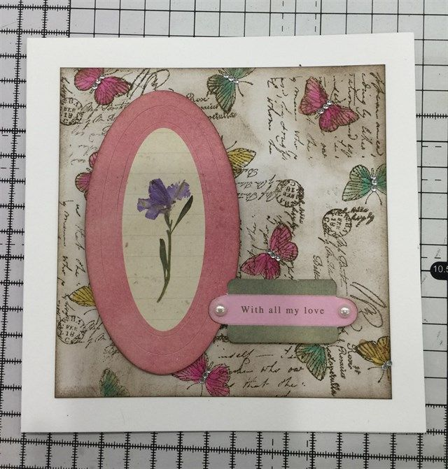 inspiration  docrafts  card making techniques card