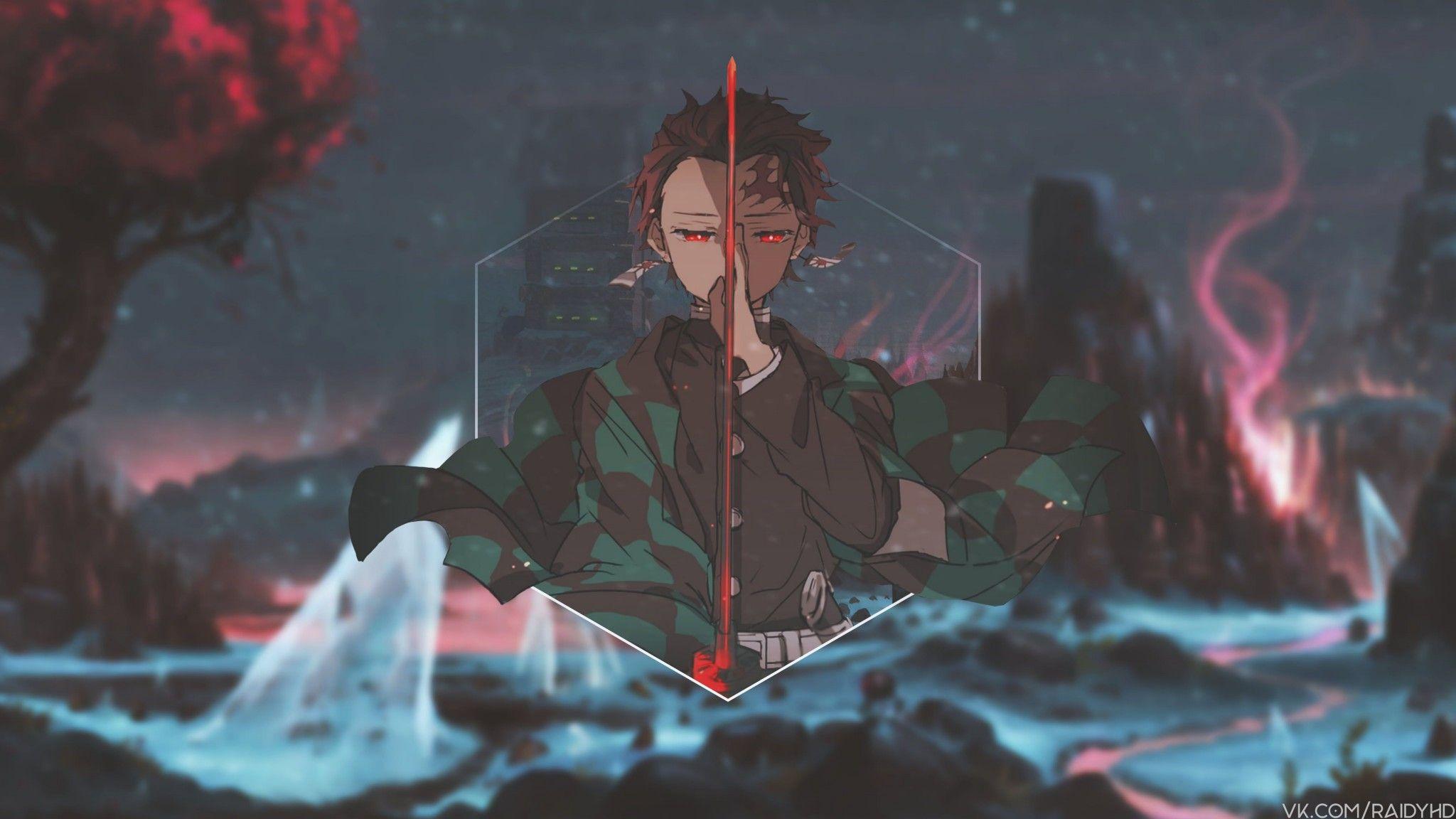 Tanjiroo In 2020 Anime Wallpaper Download Anime Wallpaper Anime Wallpaper 1920x1080