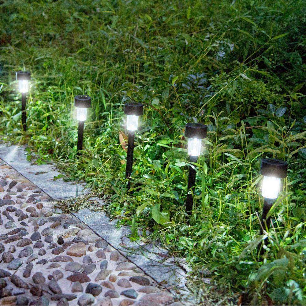 Details about 10PCS Solar Power Outdoor Path Light Spot