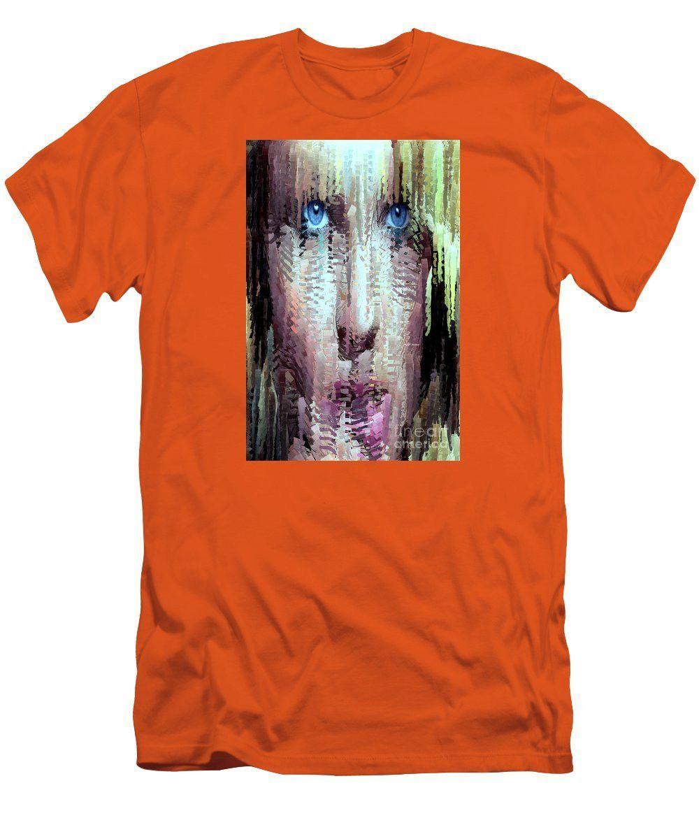 Men's T-Shirt (Slim Fit) - Deep Blue Eyes