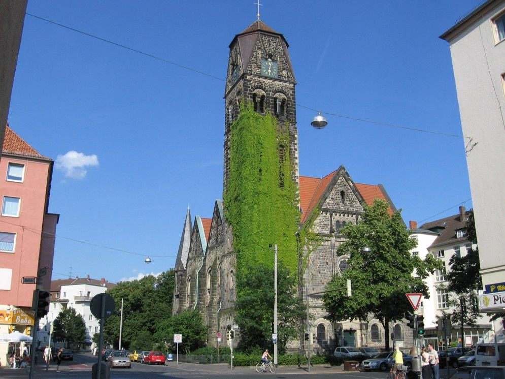 HANNOVER Südstadt Kirche hanover germany Hannover, Stadt