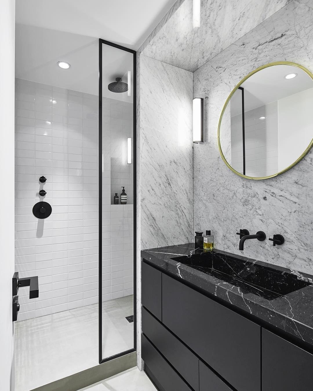 Pin By Cynthia Lee On Toilet Marble Bathroom Designs Black