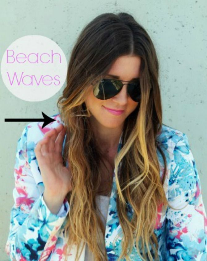 Cella Jane: Hair How To: Sexy Summer Beach Waves