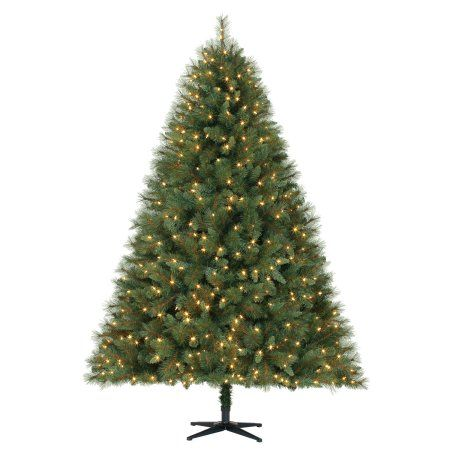 Holiday Time Pre-Lit 7.5' Prescott Pine Artificial ...