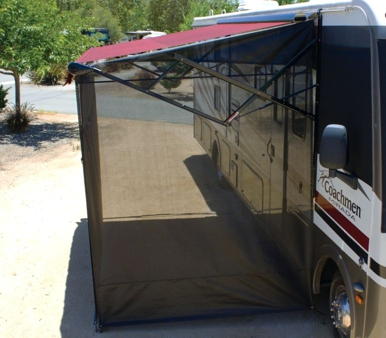 From Rv Awning Screen Room Canada Rv Awning Screen Room Motorhome Awning Rv Sunshade Rv Awning Screen Shade Awnin Camper Awnings Trailer Awning Rv Awning Ideas