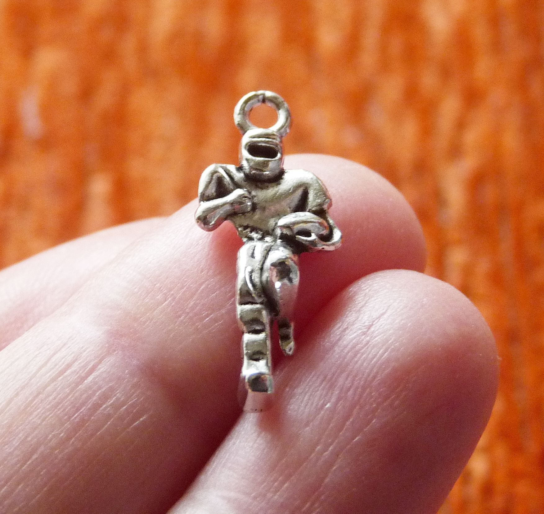 Charms for Bracelets and Necklaces Football Charm