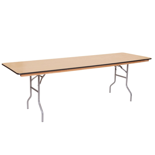 8 ft Banquet Tables for weddings, parties or events!  Rent today for your Los Angeles area event! #PartyRentals #LosAngeles #PartyRentalsLosAngeles #KidsPartyRentals #EventRentals  http://www.bigblueskyparty.com/tables.html#!/8-ft-Rectangular-Banquet-Table/p/55357363/category=1444046