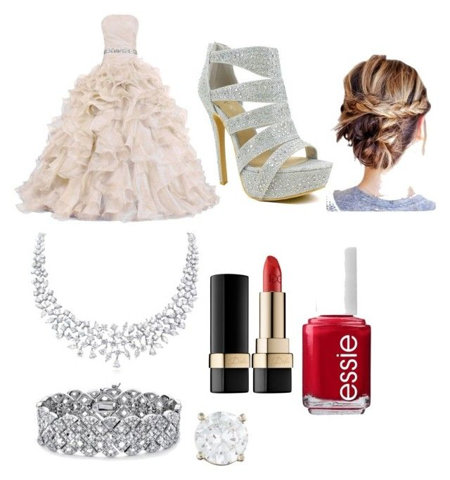 """Untitled #32"" by linkypoostalker on Polyvore featuring Celeste, Palm Beach Jewelry, Dolce&Gabbana and Essie"