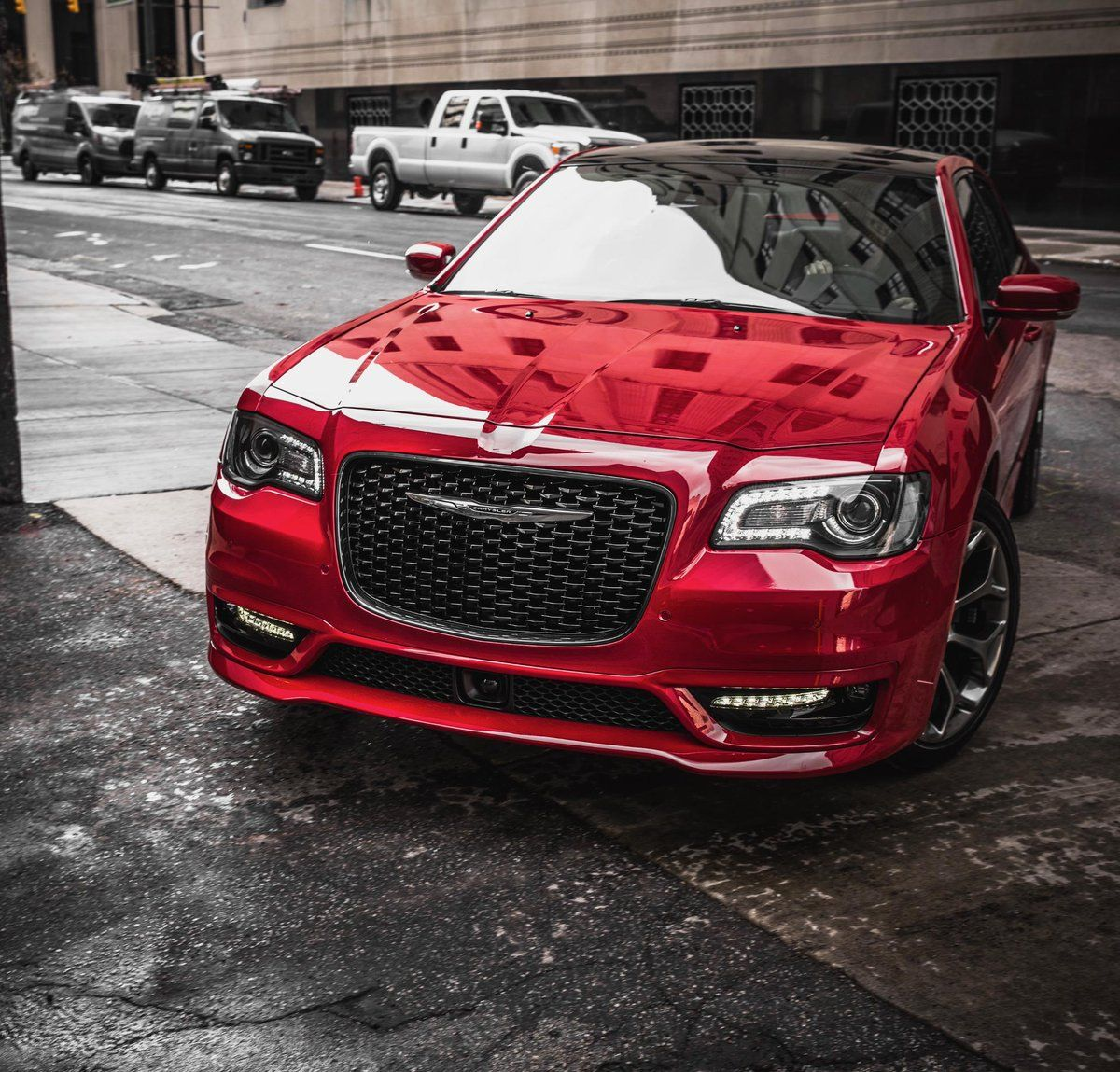 Take Charge In The Chrysler 300 Chrysler Prioritized Comfort And