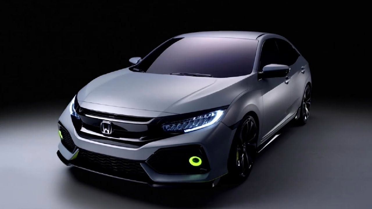 2017 Honda Civic Hatchback Prototype Video Teaser Honda