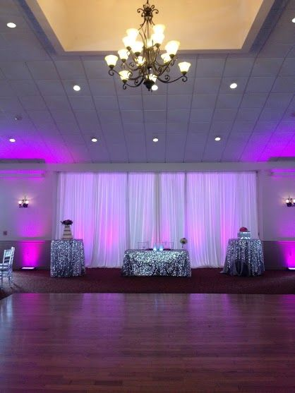 Winter Garden Tanner Hall Backdrop For Sweetheart Table