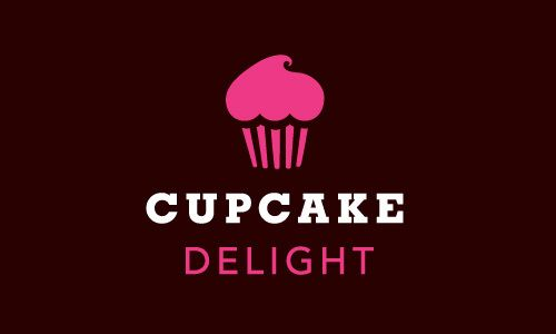 Cupcake Delight Identity By Nathan Fussner Via Behance