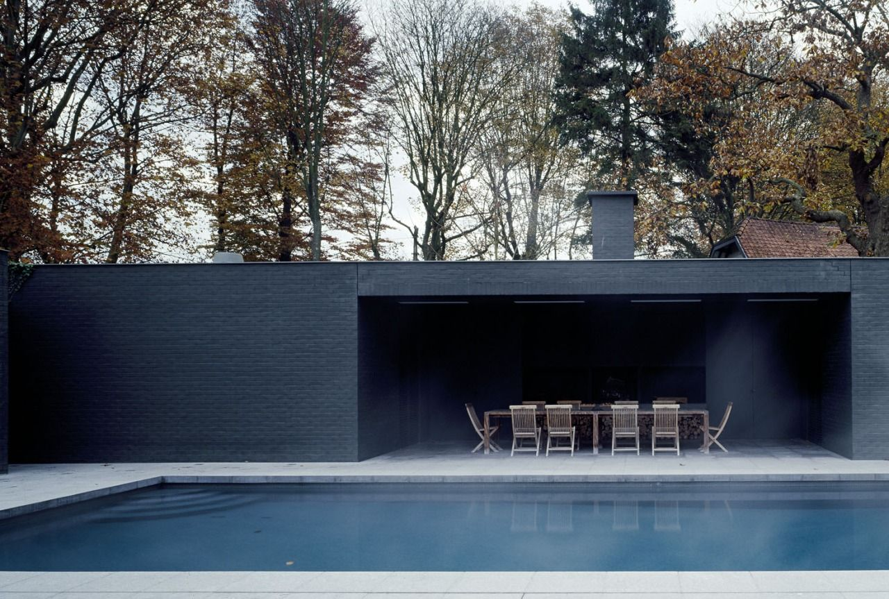 Find This Pin And More On Pool Side By Didieremotion Vincent Van Duysen Is A Belgium Architect