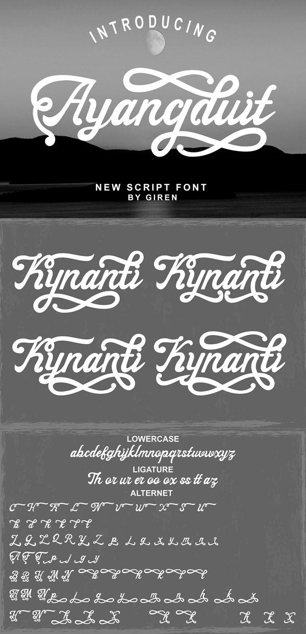 50+ Free Script Fonts for Graphic Designers Free script