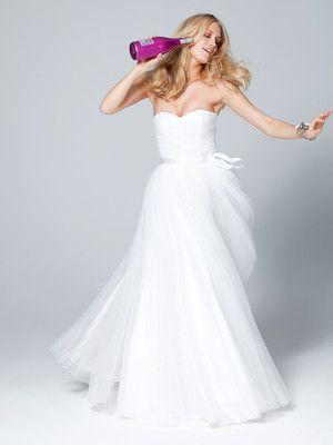 burdastyle - Schnittmuster Brautkleid - Korsagenkleid aus Duchesse ...