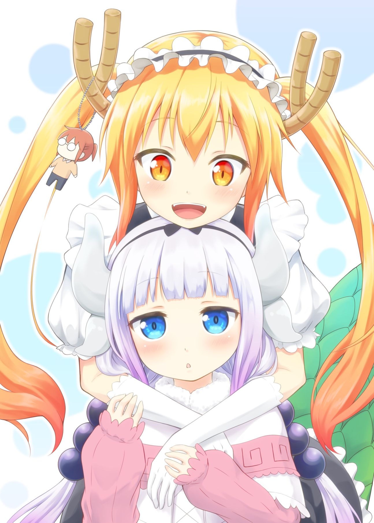 Kobayashi San Chi No Maid Dragon Mobile Wallpaper Zerochan