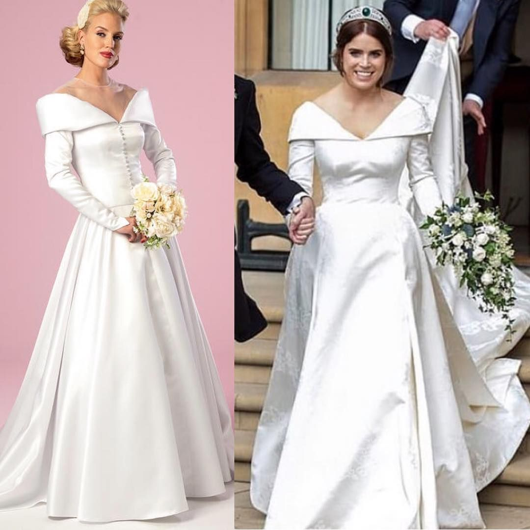 Sew The Royal Wedding Look Tm But Hurry This Butterick Pattern Is Out Of Print And Going Fast B6022 Sewth Wedding Dress Long Sleeve Royal Brides Dresses