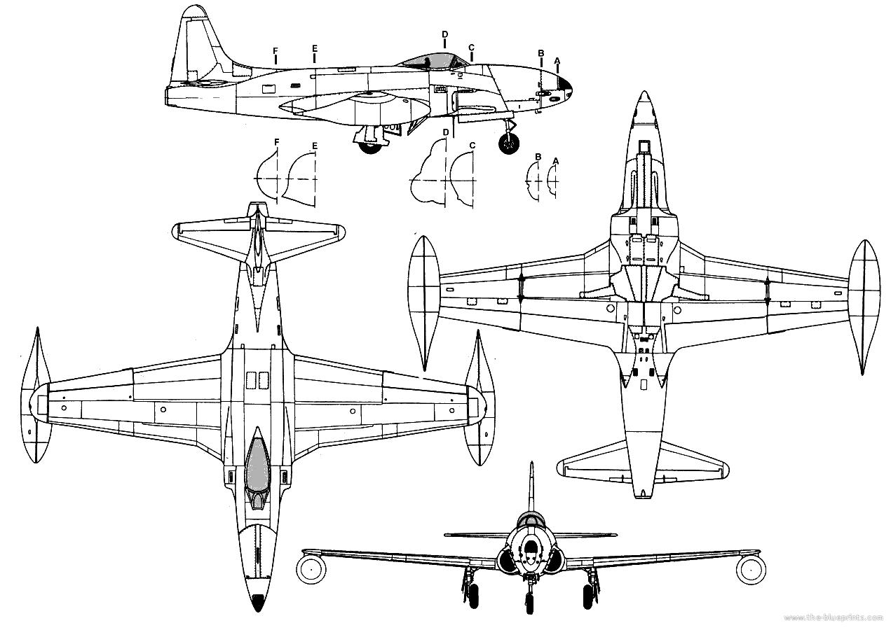 Lockheed P 80 Shooting Star