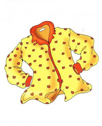 tarjetas educativas la ropa met afbeeldingen kleding