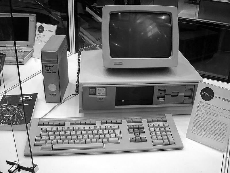 Flashback Friday To The Days When Getting Things Done On The Computer Looked Like This Fbf Computer Marketing Classroom Solutions Old Computers Computer