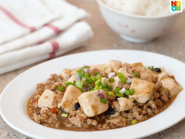 Tofu with Minced Meat Recipe (肉酱豆腐) | Traditional Tofu ...