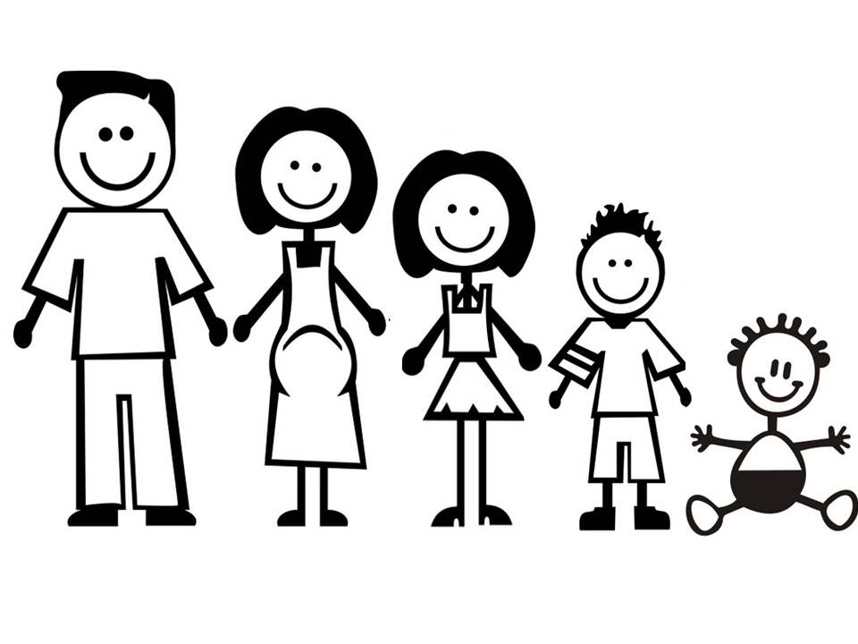 Dibujo De Familia Feliz Pintado Por Luna30055 En Dibujosnet El
