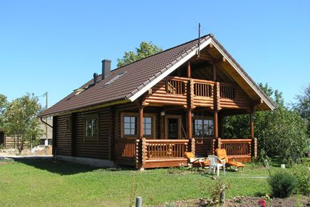 Two Bed Log House Carmen 2 Chalet