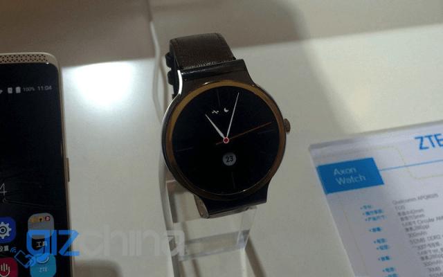 Interesante: ZTE Axon Watch, un smartwatch que funciona con Tencent OS