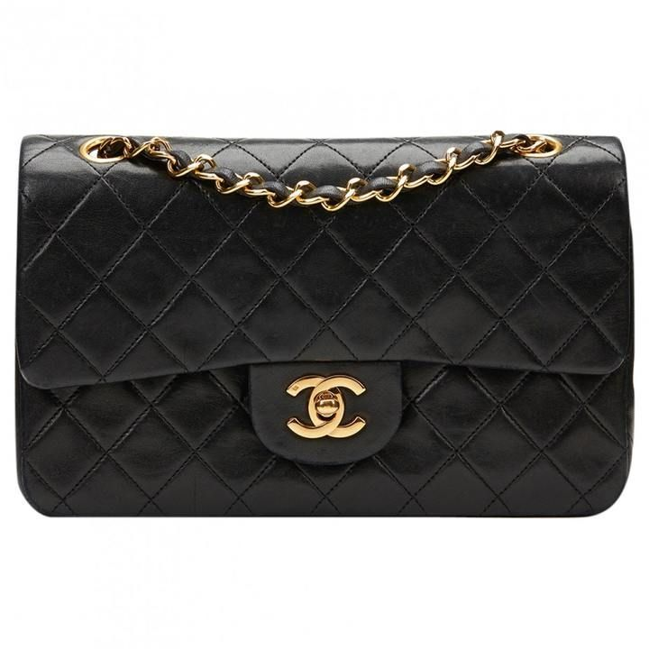 Handbags Uk Chanel Leather Black Luxury Bags Dress