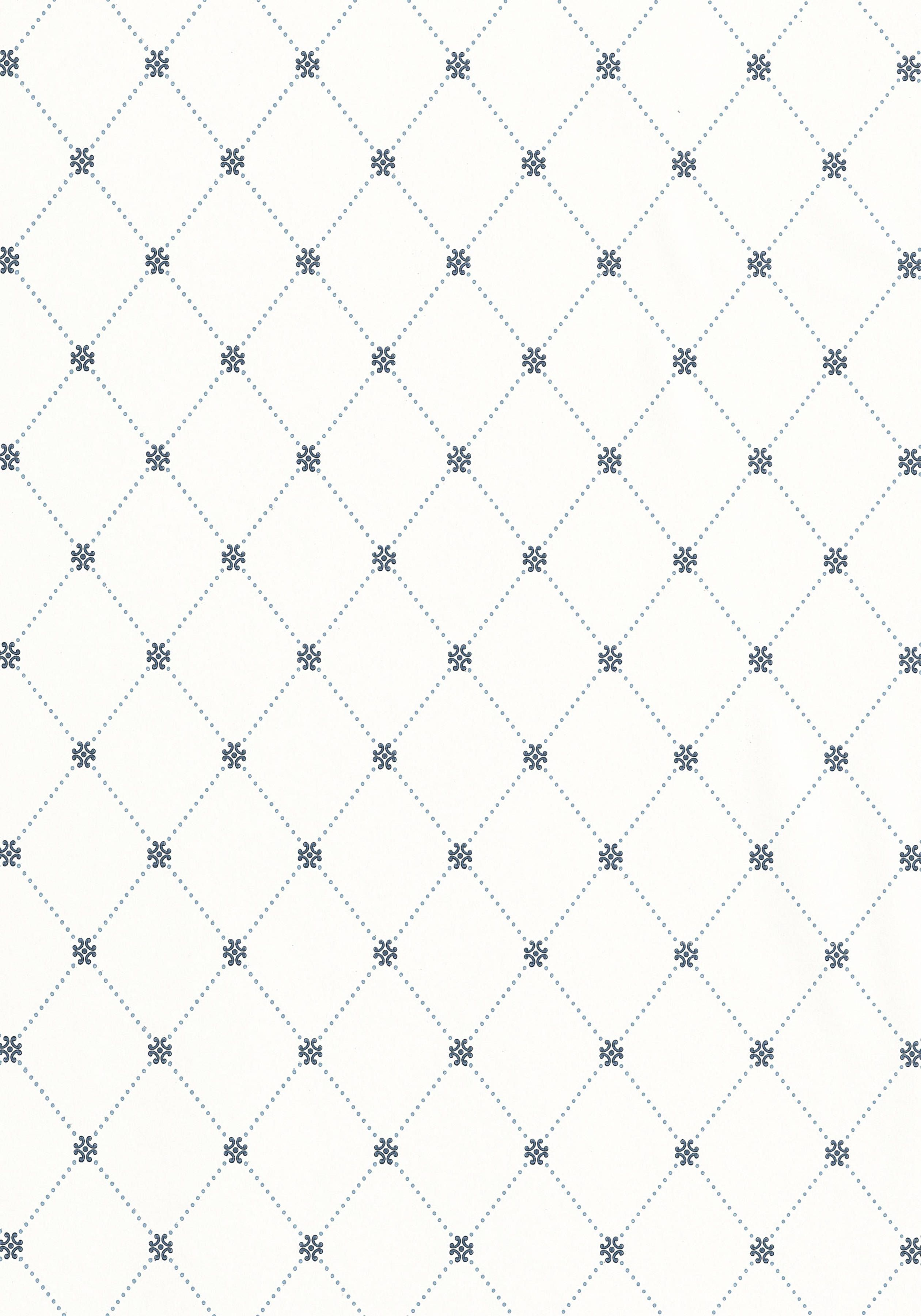 WILTON TRELLIS Blue And White T1844 Collection Geometric Resource From Thibaut Wallpaper PanelsWallpaper SPattern