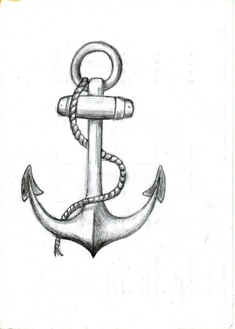 Anchor Simple drawing pictures