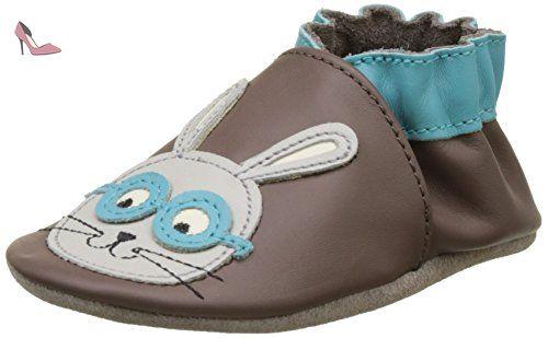 Robeez Smart Rabbit Chaussons b/éb/é gar/çon