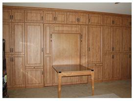 Modern, Comfortable Murphy Wall Bed|3 Day Closets | Custom Wall Beds