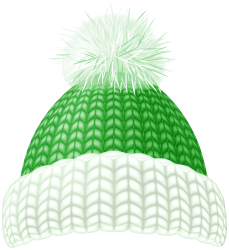 Green Winter Hat Clip Art Image Green Winter Hat Hat Clips Winter Hats