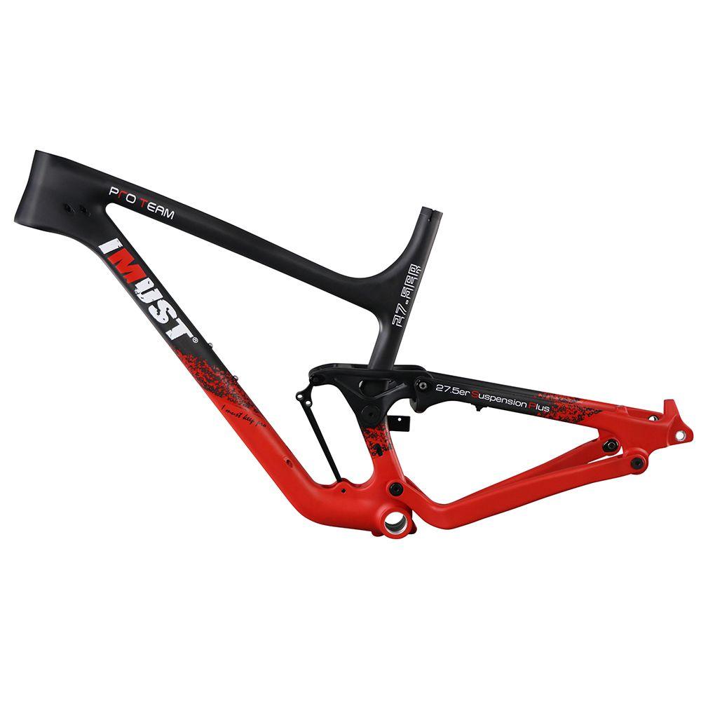 XP07 27.5 Plus carbon frame 650B+ mountain bike frame 148x12 rear ...
