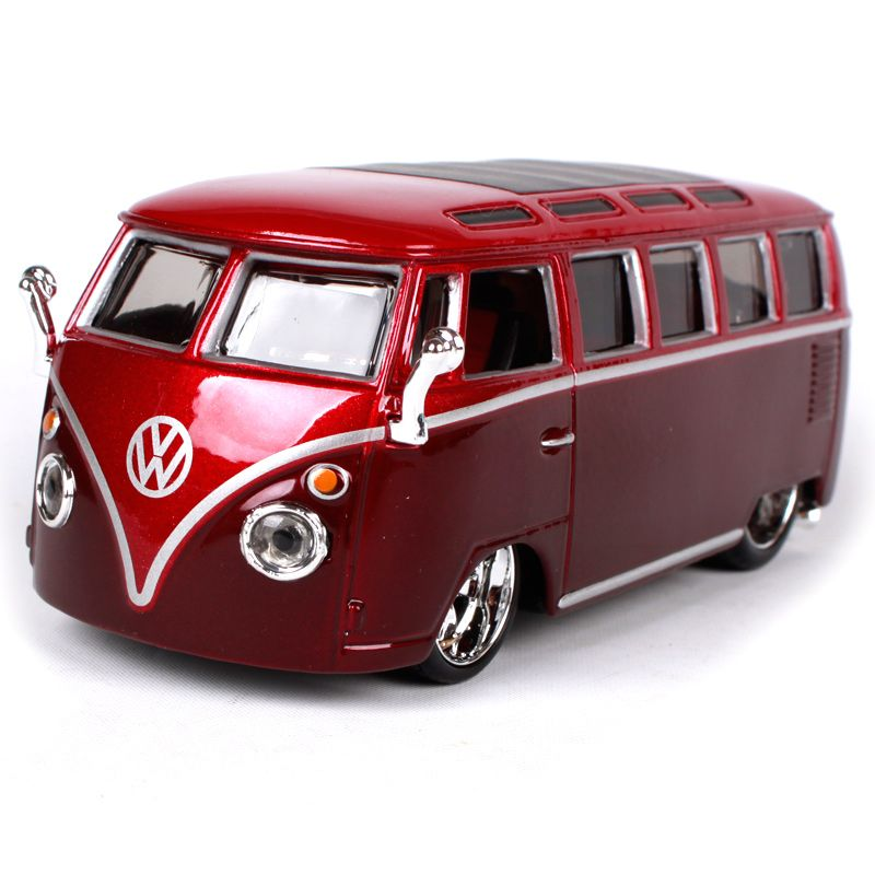 Maisto Bburago 1:32 Volkswager Van(Samba) The old car Diecast Model ...
