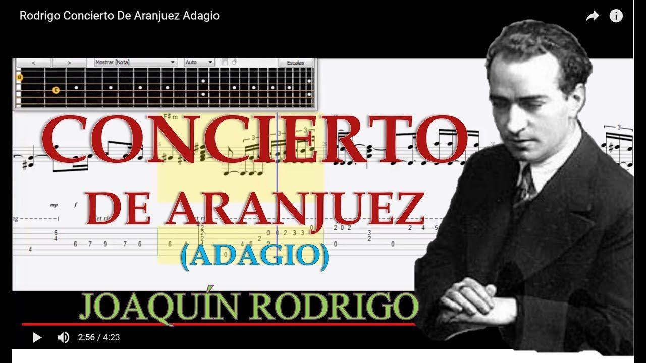 Concierto De Aranjuez Adagio Tabs Joaquin Rodrigo Guitar Tabs Tutorial Descargar Youtube Concierto De Aranjuez Concierto Composición Musical