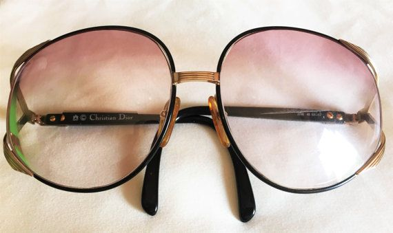 b7e54f131fc2a Vintage Authentic Christian Dior Sunglasses